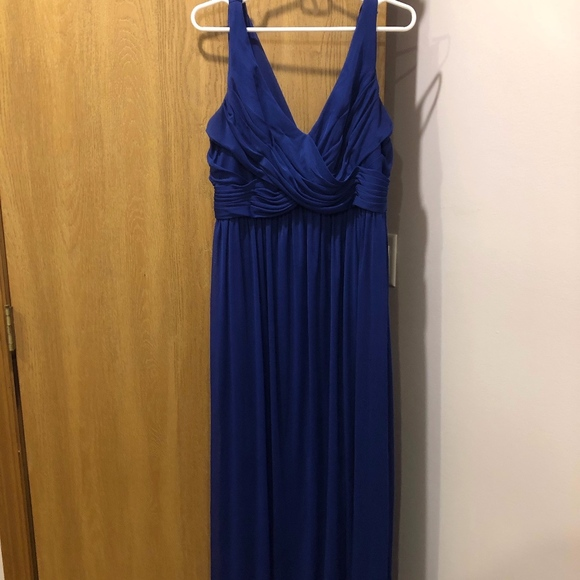 David's Bridal Dresses & Skirts - David's Bridal Cobalt Blue Dress